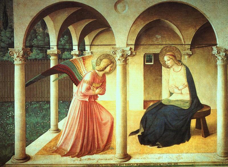 FRa Angelico - L'annonce faite à Marie